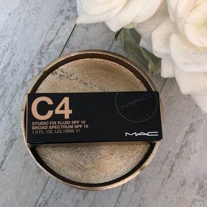 Brand New MAC C4 Studio Fix Foundation